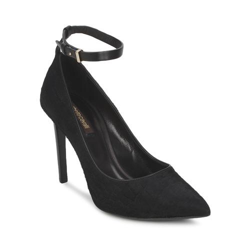 Schoenen Dames pumps Roberto Cavalli WDS232 Zwart