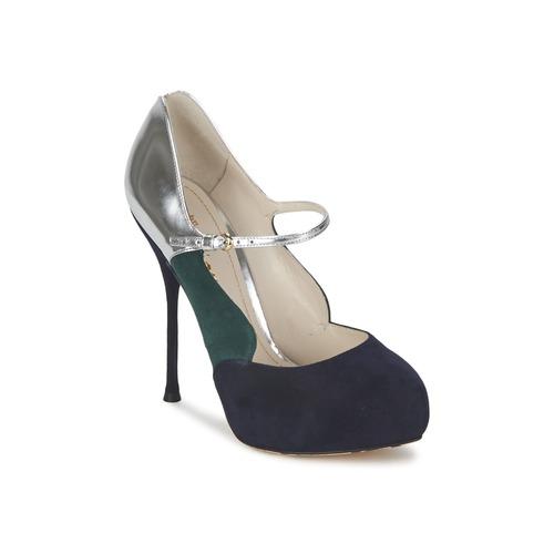 Schoenen Dames pumps John Galliano AO2179 Zwart / Grijs