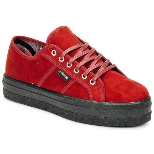 Schoenen Dames Lage sneakers Victoria 9205 Bordeau
