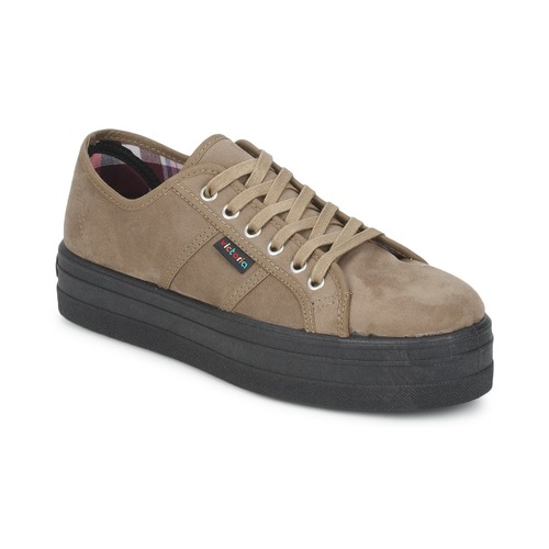 Schoenen Dames Lage sneakers Victoria 9205 Taupe