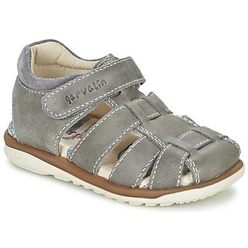 Schoenen Jongens Sandalen / Open schoenen Garvalin GALERA Grijs