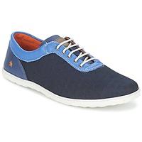 Schoenen Heren Lage sneakers Art QWERTY Blauw