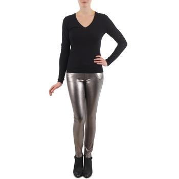 Textiel Dames 5 zakken broeken S.Oliver PANTS Zilver