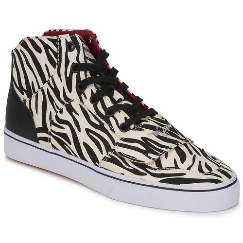 Schoenen Dames Hoge sneakers Creative Recreation W CESARIO XVI M Zebra