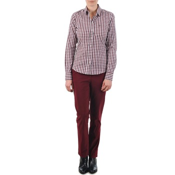 Textiel Dames Chino's Gant C. COIN POCKET CHINO Bordeau