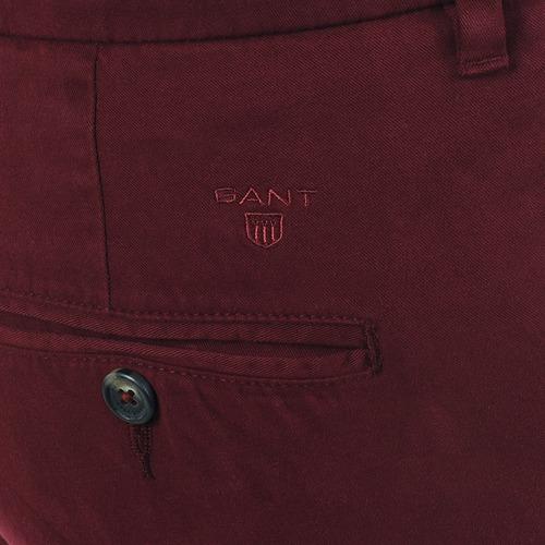 Gant C. Coin Pocket Chino Bordeau - Gratis Levering L8j6vR