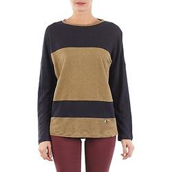 Textiel Dames T-shirts met lange mouwen TBS POOL Blauw / Beige