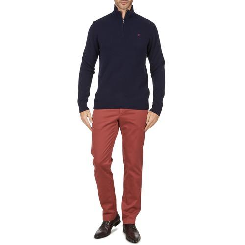 Textiel Heren Chino's Hackett STRETCH TWILL CHINO Roze