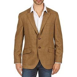 Textiel Heren Jasjes / Blazers Hackett TWEED WPANE Bruin