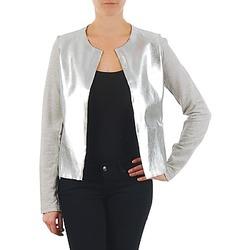 Textiel Dames Jasjes / Blazers Majestic 93 Grijs / Zilver