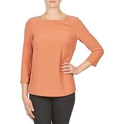 Textiel Dames T-shirts met lange mouwen Color Block 3214723 Koraal