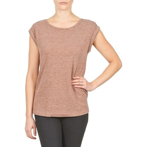 Textiel Dames T-shirts korte mouwen Color Block 3203417 Old / Roze / Gevlekt / Grijs