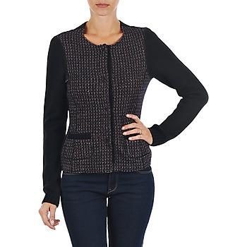 Textiel Dames Vesten / Cardigans Marc O'Polo FANNIE Zwart