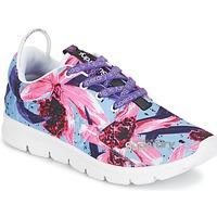 Schoenen Dames Lage sneakers Superdry SUPERDRY SCUBA RUNNER Roze / Blauw