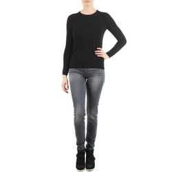 Textiel Dames Skinny jeans 7 for all Mankind THE SKINNY DARK STARS PAVE Grijs