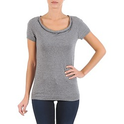 Textiel Dames T-shirts korte mouwen La City PULL COL BEB Grijs