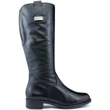 Schoenen Dames Hoge laarzen CallagHan Laarzen  BOND RIDE ZWART