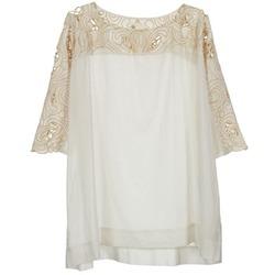 Textiel Dames Tops / Blousjes Stella Forest ATU030 Beige