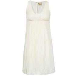 Textiel Dames Korte jurken Stella Forest ARO015 Ecru