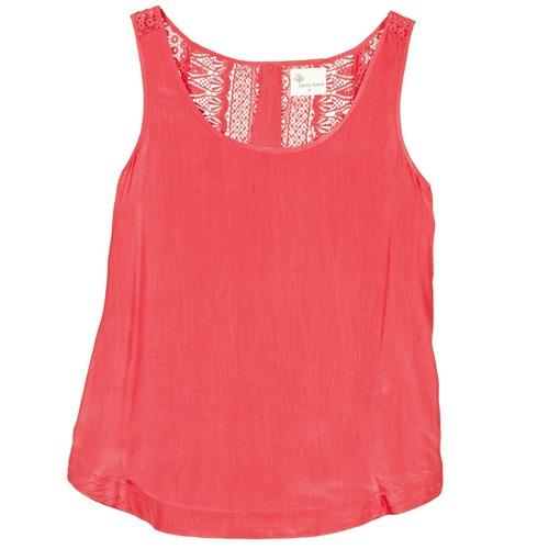 Textiel Dames Mouwloze tops Stella Forest ADE009 Roze