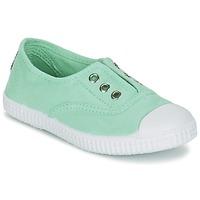 Schoenen Meisjes Lage sneakers Chipie JOSEPE Groen / Opal