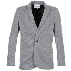Textiel Dames Jasjes / Blazers American Retro JACKYLO Wit / Zwart