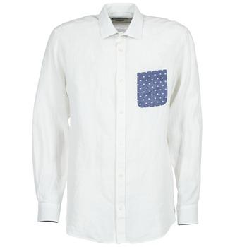 Textiel Heren Overhemden lange mouwen Serge Blanco CHACA Wit