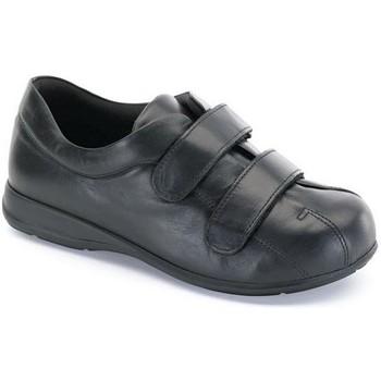 Schoenen Dames Laarzen Calzamedi SCHOENEN   PIE DIABETICO NEGRO