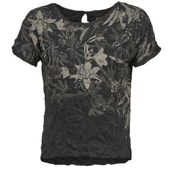 Textiel Dames T-shirts korte mouwen Oxbow NIANA Zwart