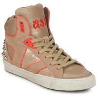 Schoenen Dames Hoge sneakers Ash SPIRIT Beige / Goud / OranJe