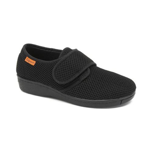 Schoenen Dames Lage sneakers Calzamedi COMFORTABEL POSTOPERATIEF  BINNENLANDS NEGRO