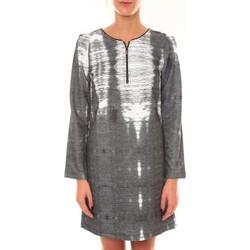 Textiel Dames Korte jurken Custo Barcelona Robe Charly Grise Zwart