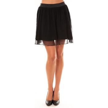 Textiel Dames Rokken Coquelicot Jupe courte 15107/099 noir Zwart