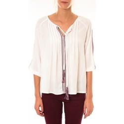 Textiel Dames Tops / Blousjes Dress Code Blouse 1645 blanc Wit