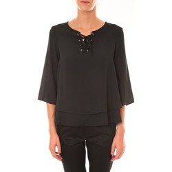 Textiel Dames Tops / Blousjes Dress Code Blouse 1652 noir Zwart