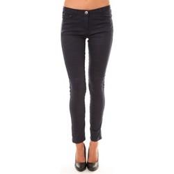 Textiel Dames 5 zakken broeken Dress Code Pantalon C601 marine Blauw