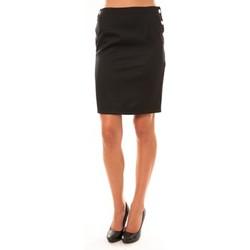 Textiel Dames Rokken Dress Code Jupe D1452 noir Zwart