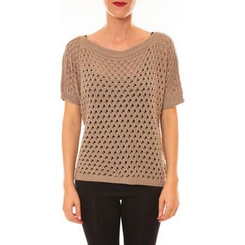 Textiel Dames Truien La Vitrine De La Mode By La Vitrine Pull Carla taupe Bruin