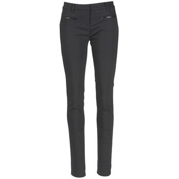 Textiel Dames 5 zakken broeken Tommy Hilfiger MARTA Zwart