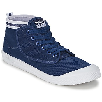 Schoenen Heren Hoge sneakers Volley HIGH LEAP Marine / Wit