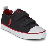 Schoenen Kinderen Lage sneakers Polo Ralph Lauren WHEREHAM LOW EZ Blauw