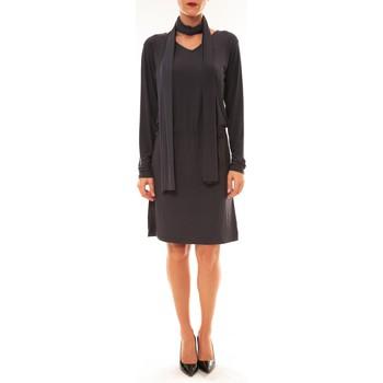 Textiel Dames Korte jurken Dress Code Robe 88158 marine Blauw