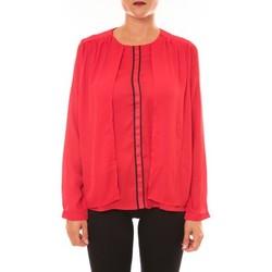 Textiel Dames Tops / Blousjes La Vitrine De La Mode By La Vitrine Blouse H12 rouge Rood