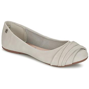 Schoenen Dames Ballerina's Refresh SHANNON Grijs