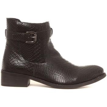 Schoenen Dames Laarzen Cassis Côte d'Azur Bottines Hiro noir Zwart
