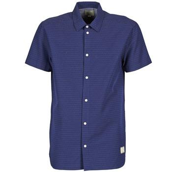Textiel Heren Overhemden korte mouwen Suit DAN S Blauw
