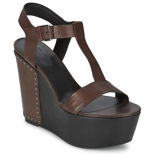 Schoenen Dames Sandalen / Open schoenen Vic GIBSON Bruin