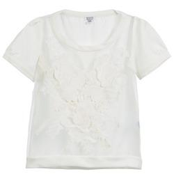 Textiel Dames Tops / Blousjes Brigitte Bardot BB44160 Ivory
