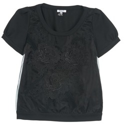 Textiel Dames Tops / Blousjes Brigitte Bardot BB44160 Zwart