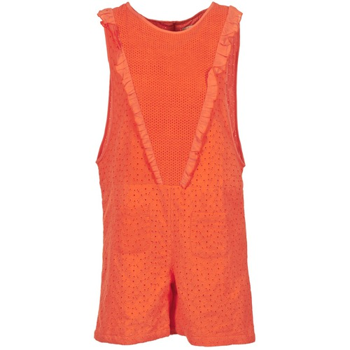 Textiel Dames Jumpsuites / Tuinbroeken Brigitte Bardot BB44084 Koraal
